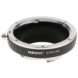 Image 1 - NEWYI Objektiv Mount Adapter für Canon EOS EF Objektiv Leica Kamera Körper TECHART LM EA7 kamera Objektiv Konverter Adapter Ring