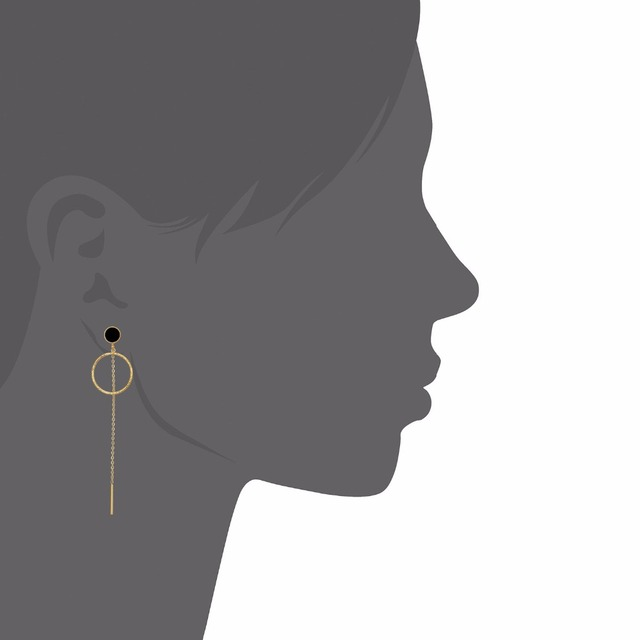 Pendientes con cadena colgante para mujer – pendientes de moda – Coleccion NoSinMisJoyas 2019