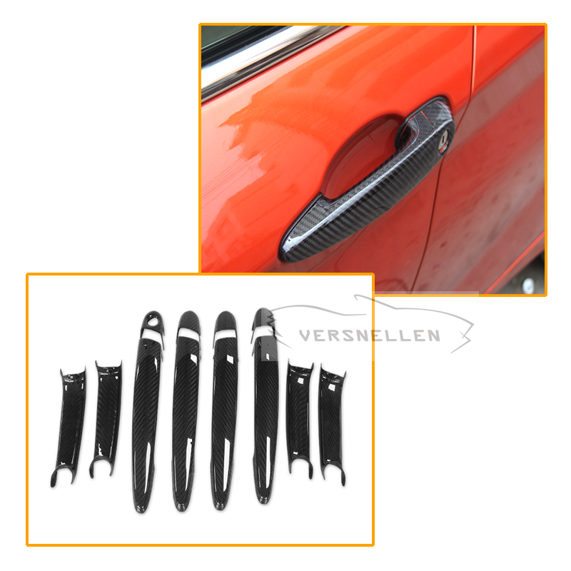 Exterior: High Quality Dry Carbon Fiber Perfect Fitment Door Panel