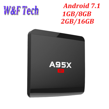 A95X R1 Android 7.1 Smart TV Box Amlogic S905W Quad-core 1GB 8GB HD2.0 4K2K HD 2.4G Wifi A95x Nexbox Streaming Media Player