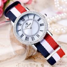 Reloj de Las Mujeres Carmis marca de Moda de lujo Casual reloj Único Con Estilo relojes de deporte de la Señora relojes de pulsera de cuarzo reloj de diamantes de Imitación