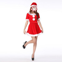 Christmas Consume Stage Performance For Girls Costume Dress Party Christmas Decoration Supplies