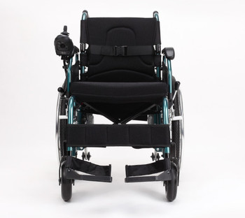 Folding light portable electric wheel chair for disabled people