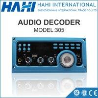 Bluetooth Audio Receiver DC 12V MP3 Player WMA WAV Decoder Audio Board FM Radio Wireless Cable