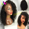 Cheap Afro Kinky Curly Wigs Synthetic Lace Front Wigs Sintetica Short Wigs Heat Resistance For African Americans With Baby Hair
