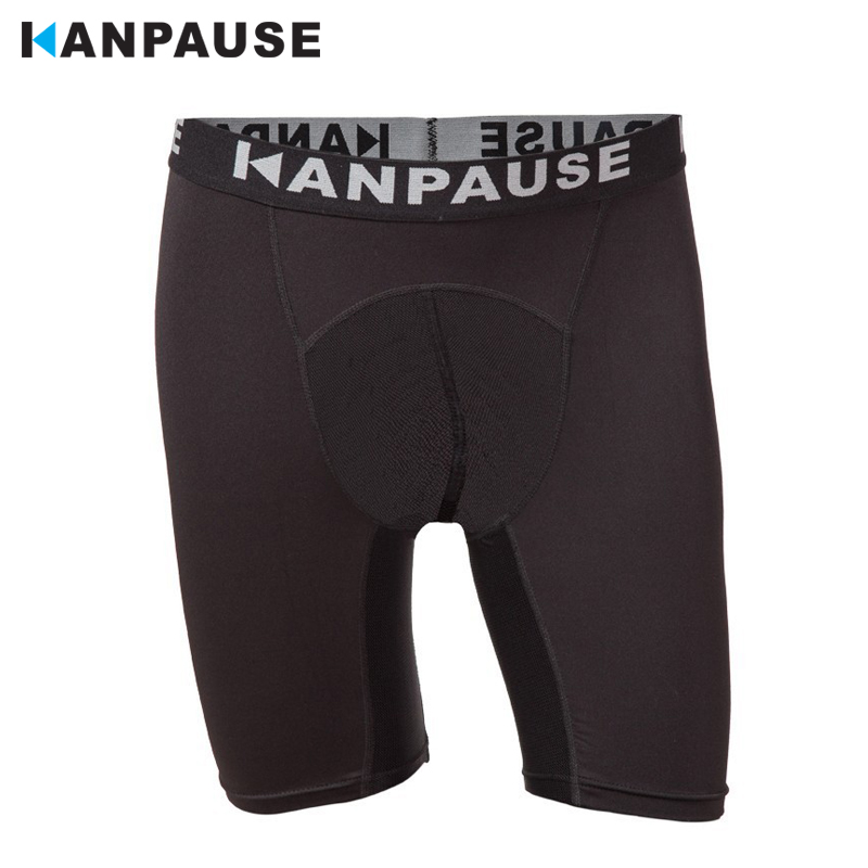 New Arrival  KANPAUSE Men's Running Fitness Shorts Compression Tights Sports Short Sportswear