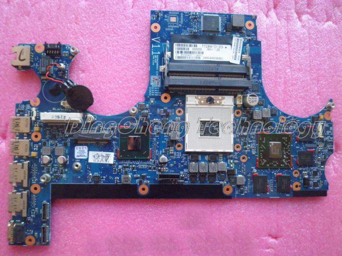 SHELI laptop Motherboard For hp ENVY17 689998-001 DDR3 HM76 7850M/1G 2D non-integrated graphic card