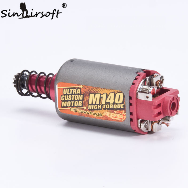 Sinairsoft terminator ultra custom m140 high twist type for Long type motor airsoft