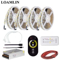 CCT RF Led Strip Light Controller,5050 Color Temperature Led Flexible Light Power Supply Adapter Kit 5M 10M 15M 20M