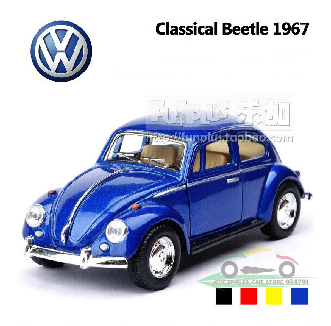 1 32 Volkswagen Beetle 1967 Classic Vw Cars Kids Antique