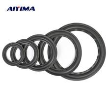 AIYIMA 2 sztuk Audio aktywne głośniki 4/5/6.5/8/10 Cal głośnik pianka Surround Foam krawędzi gąbka głośnik naprawa części akcesoria