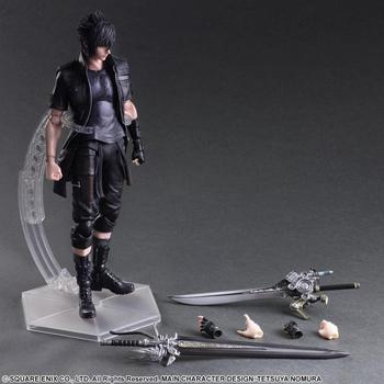 Playarts KAI Final Fantasy XV FF15 Noctis Lucis Caelum PVC Action Figure Collectible Model Toy 25cm