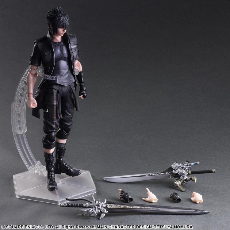 Playarts KAI Final Fantasy XV FF15 Noctis Lucis Caelum PVC Action Figure Collectible Model Toy 25cm KT3128 kinston art flower vine pattern pu plastic case w stand for iphone 6 plus multicolored