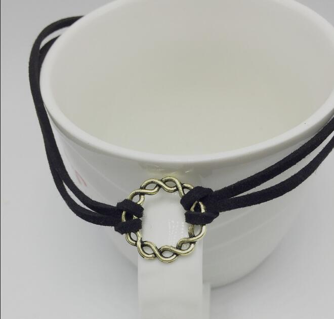 90's Jewelry 2016 New Handmade Retro Charm Black Velvet Gothic Punk  Choker Necklace