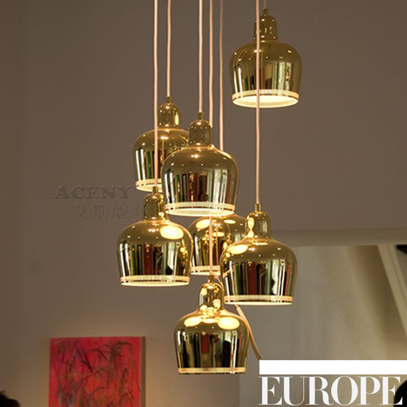 Buy New Loft RH Pendant Lights American Country Lamps Modern