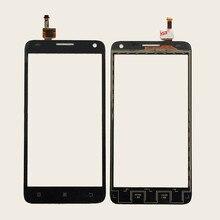 Черный Белый Передняя Стеклянная Линза + Сенсорный Экран Digitizer Для Lenovo S810T Замена для ЖК-Экран Мобильного Телефона Чехол