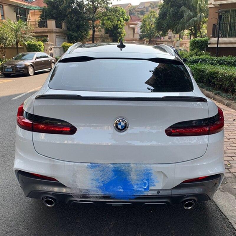 Becquet arrière en fibre de carbone Style CS pour BMW X4 becquet 2018 + X4 G02 becquet arrière en carbone xawai25i xawai30i X4 ailes arrière