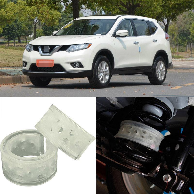 For Nissan X-Trail High Quingity Front /Rear Car Auto Shock Absorber Spring Bumper Power Cushion Buffer  high quality front rear car auto shock absorber spring bumper power cushion buffer for subaru tribeca
