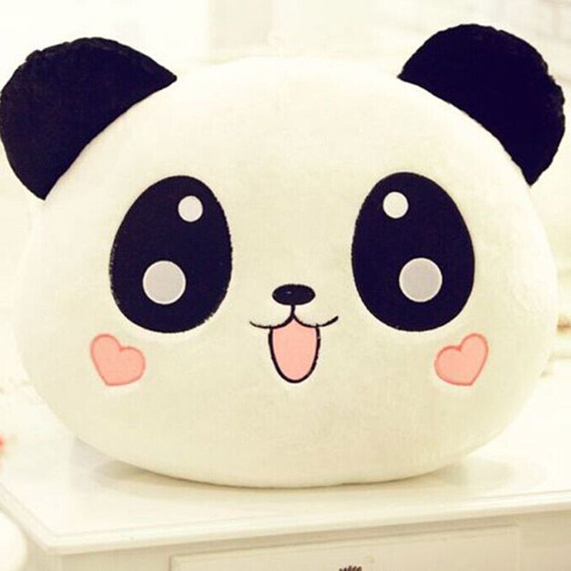 1 pcs Cute Animal Panda Pillow Top Quality Bolster As Gift