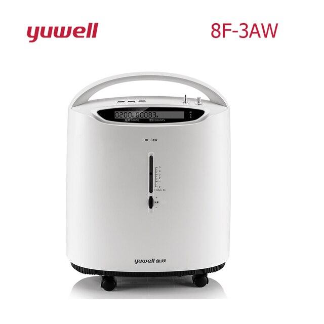 YUWELL8F 3AW 3L طبيّ درجة غربال جزيئي مُكثّف أوكسجين بروتابلي أكسجين بار مولد أكسجين مع منبه أكسجين آلة