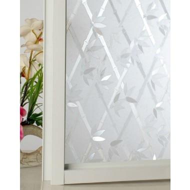 CottonColors Window Glass Sticker Opaque Privacy Window Film No-Glue - Տնային դեկոր - Լուսանկար 4