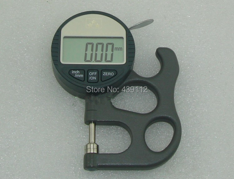 New 2014 One-piece Digital display micrometer thickness gauge tester thickness meter accuracy  0.01mm