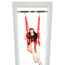 hammock Adult Sex Swing Chairs Hanging Love Swing Sex Toys for Couples Erotic Products Door Swing Bdsm Sex Shop Sex Furniture red sex furniture sex swing chairs without tripod hanging love swing for couples adult sex products free shipping vp a002004a