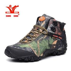 XIANGGUAN Man Hiking Boots Wat