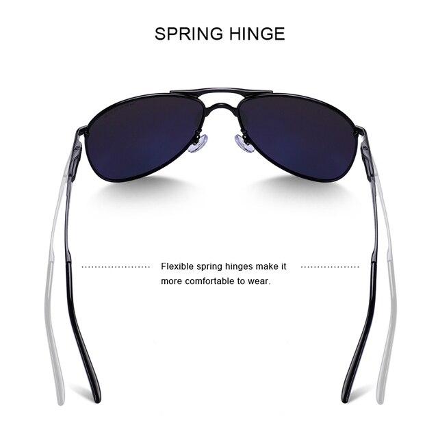 MERRYS - Classic Pilot Sunglasses 4