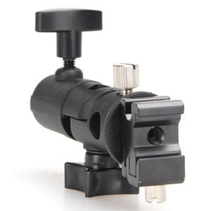 Image 5 - Foto acessórios da câmera giratória flash suporte de sapato suporte guarda chuva estúdio luz giratória suporte adaptador para guarda chuva e tipo