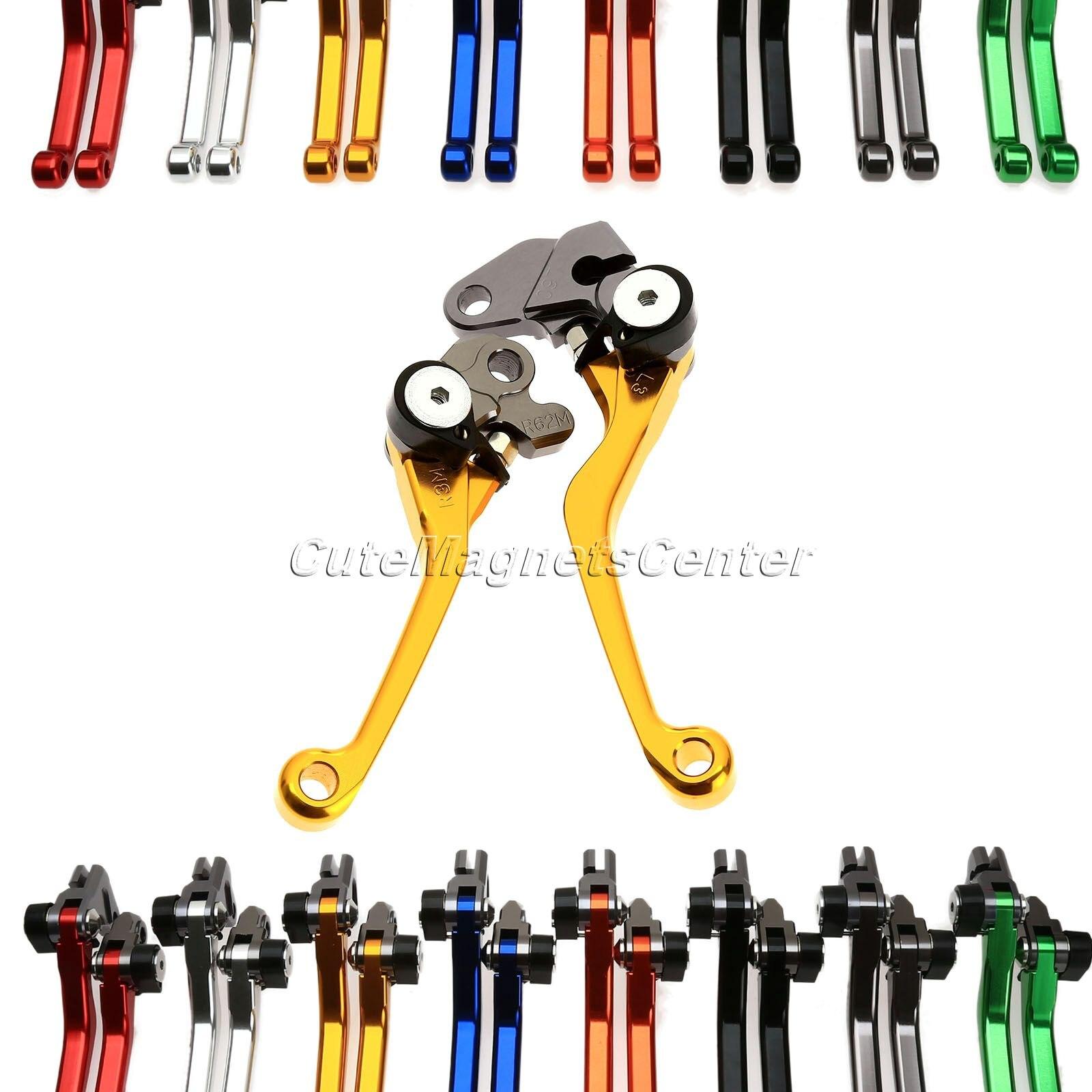 ?CNC Pivot Dirt Bike Réglable D'embrayage Frein De Frein D'embrayage Leviers Pour KTM ff84d4