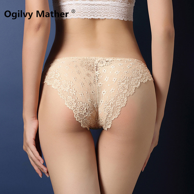 d88c49f99841b Hot selling Fashion sexy panties fancy lace underwear Ladies High Quality  Low waist Transparent briefs for women lingerie