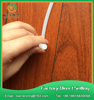 10meters Diamter 2mm Silicone Rubber Cord Lighting Sealing Rubber Cord Industrial Sealing Strip Milky White Silicone