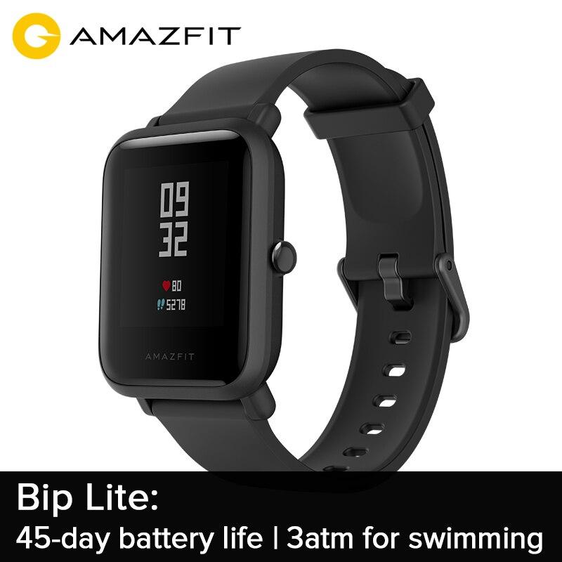 Pre sale Amazfit Bip Lite 45 Day Battery Life 3ATM Water resistance ETA Aug 15th