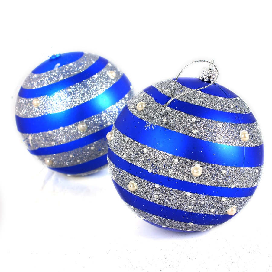Large round christmas ornaments - Aliexpress Com Buy 2pcs New Round Large 3 9in Christmas Balls Baubles Xmas Tree Decorations Christmas Ornament 5241 From Reliable Christmas Ornaments