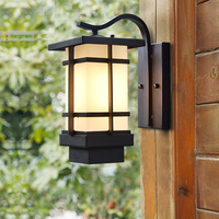 1 pcs Street New Vintage wall Lights garden outdoor waterproof lighting aisle balcony villa retro European Led outdoor wall lamp