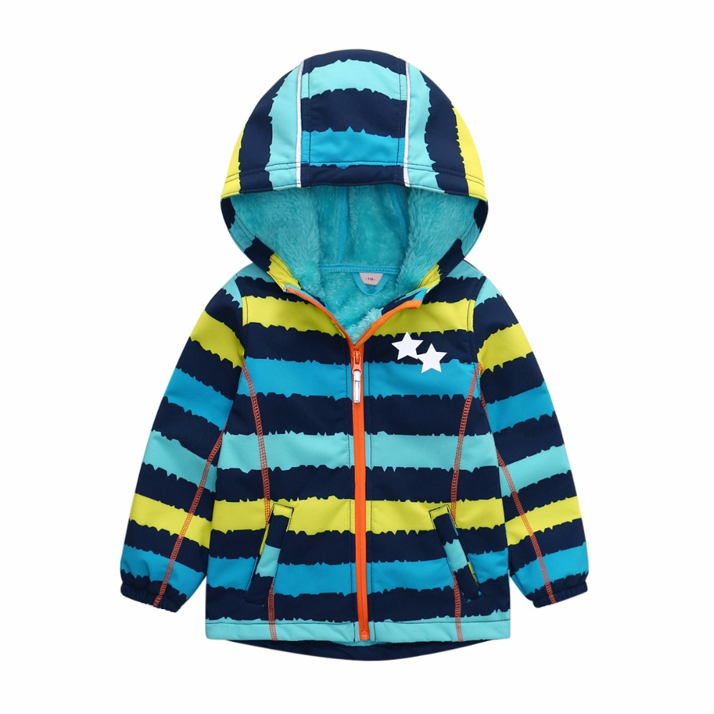 Boys and girls autumn and winter coat children s jackets boys and girls outdoor soft shell