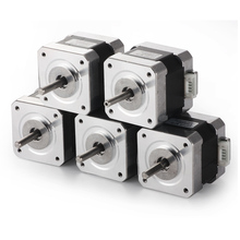 5 шт. 4-свинец Nema17 Шагового Двигателя для 3D принтер 42 двигатель Nema 17 двигателя 42 42BYGH 1.7A (17HS4401) двигатель для ЧПУ XYZ