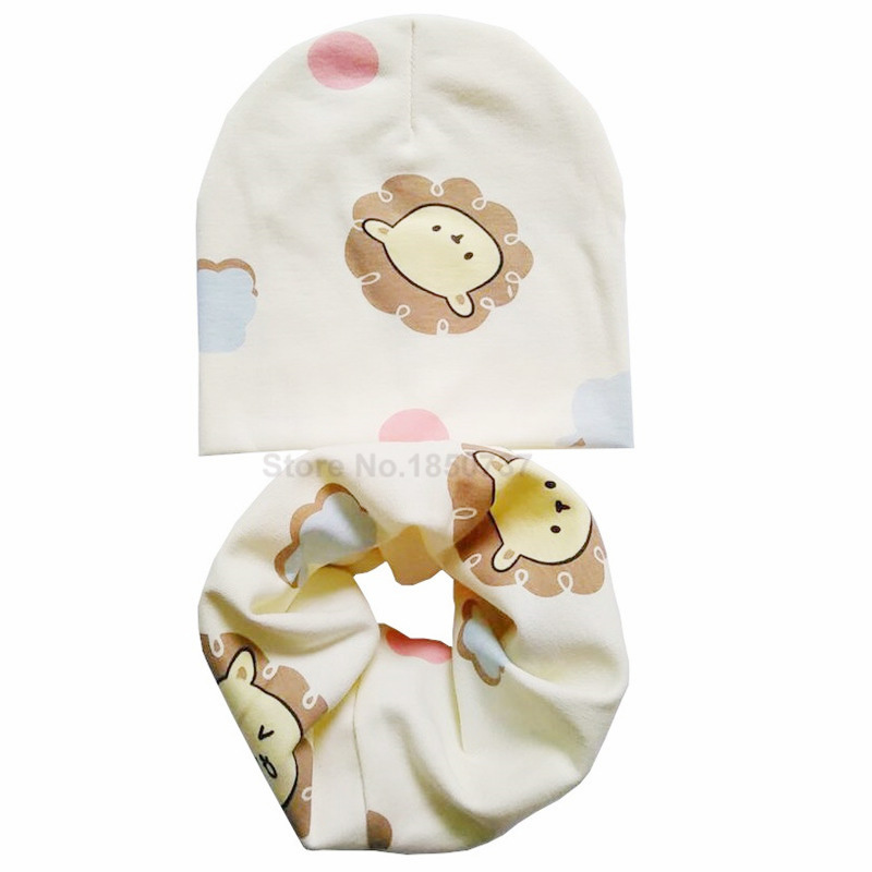 beige hat scarf set