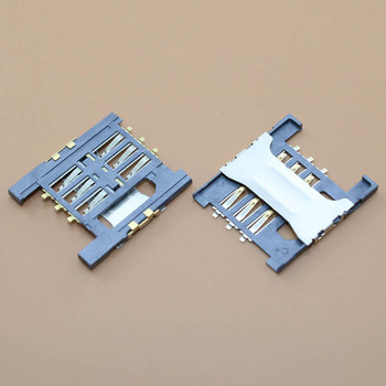 YuXi New SIM card reader Slot connector holder Tray Sockect Module for Lenovo k860i a658t A828T A5000 A568T a788t A300 image