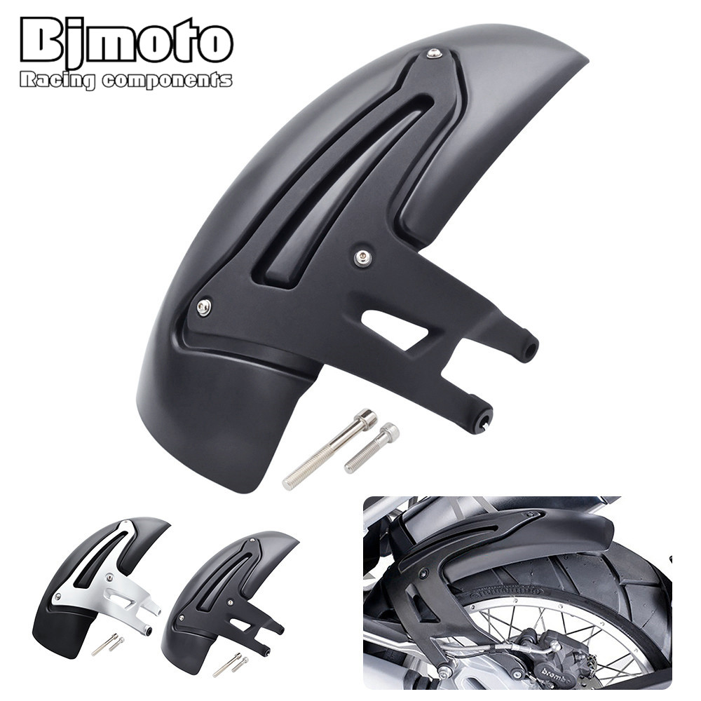 Bjmoto Motorcycle Rear Fender Hugger Mudguard Mudflap Splash Guard For BMW R1200 GS  LC 2013-2016 R1200GS LC Adventure 2014-2016 for 2014 2016 yamaha yzf r25 r3 motorcycle rear fender dust mudguard with chain guard fairing tire wheel hugger protector carbon