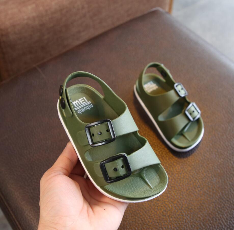 Summer 2019 Boys Shoes England 1-14 Years Old Baby Children's Sandals Children's Non-slip Beach Sandals Children Sneakers