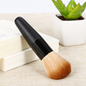 Image 3 - ELECOOL 1pc Professional Soft Synthetic Hair Women Face Cosmetic Makeup Loose Powder Blush Shadow Contour Make up  Brush Tool