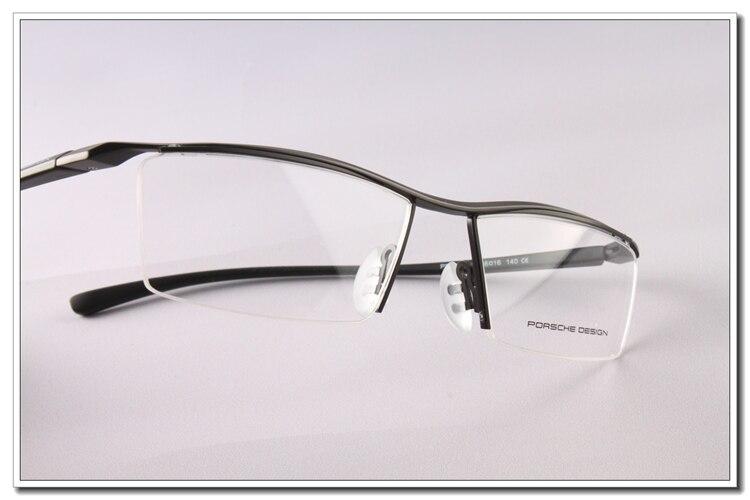 bd80e39afe2 New Fashion Eyeglass Frames Luxury Car Brand Design TR90 P8189 Black Coffee  Free Shipping Wholesale-in Eyewear Frames from Apparel Accessories on ...