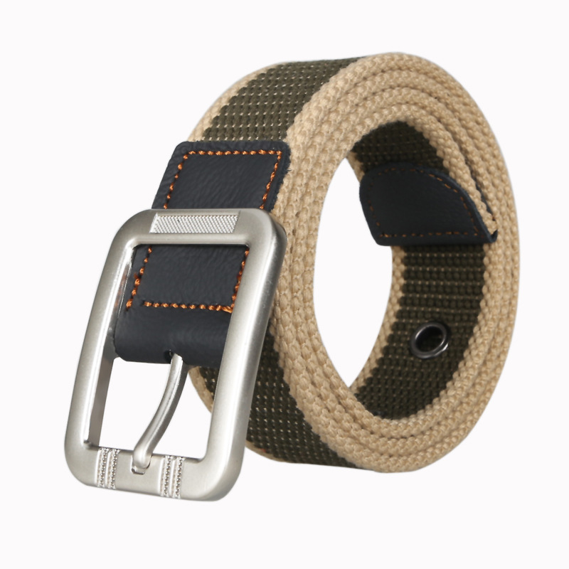 High Quality Canvas Belt Outdoor Tactical Men&women High Quality Canvas Alloy Buckles Belts For Jeans Male Fashion Casual Belt