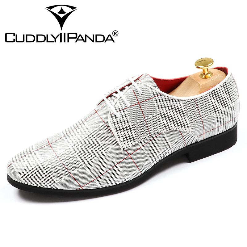 Cuddlyiipanda 2018 Office Men S Dress Suit Shoes Luxurious Style Wedding Casual Derby Man Zapatos Hombre
