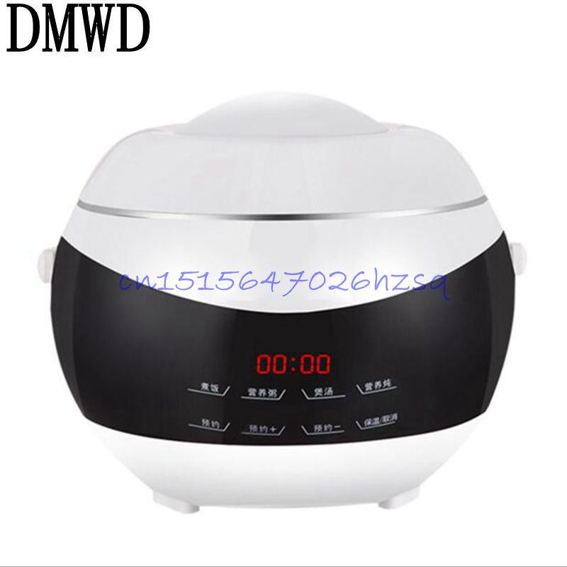 DMWD 400W 2.0L Household Golden liner double layer electric heating Rice cooker multifunctional  cooking rice/steam/heating dmwd dfb a20y1 mini rice cooker 3 4 persons dorm cooking small household electric cooker genuine 350w 220v