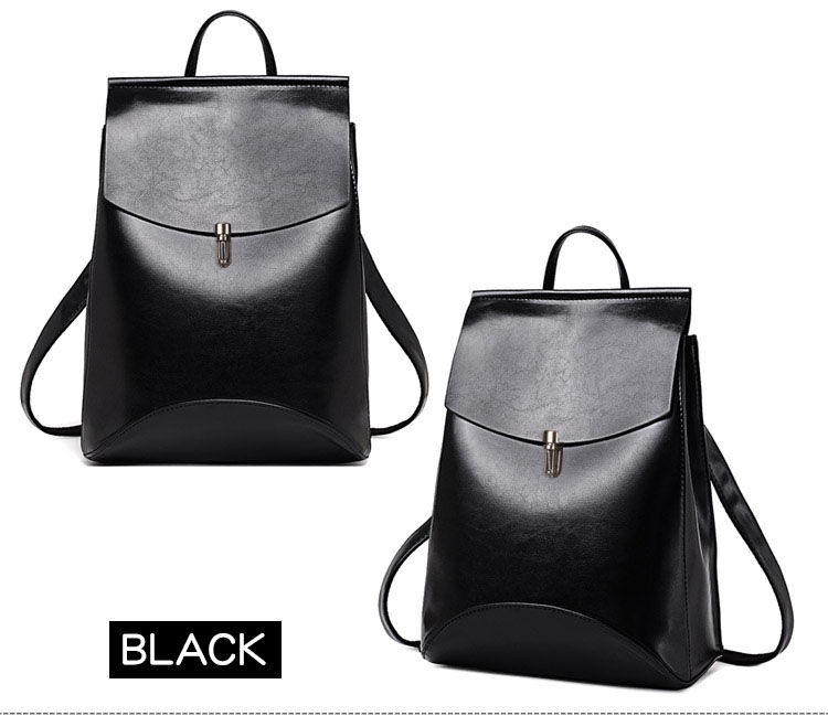 HTB1obcnQ3HqK1RjSZFPq6AwapXal HOT Fashion Women Backpack High Quality Youth Leather Backpacks for Teenage Girls Female School Shoulder Bag Bagpack mochila