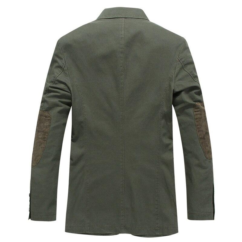 2019 جاكت للربيع الرجال العلامة التجارية الملابس الأعمال عارضة القطن بدوره إلى أسفل طوق سترة معطف الذكور chaqueta hombre سترة-في جواكت من ملابس الرجال على  مجموعة 2