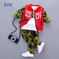 2017 New Kids Boys Clothes Set Toddler Sport Suits Children ClothingSet Zipper  Letters ASet Of Garment Child Outfits